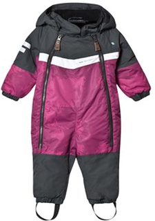 Lindberg Atlas Baby Snowsuit Cerise 80 cm