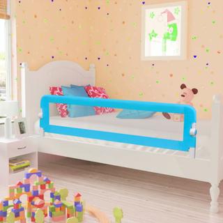 vidaXL Sengehest til små børn, 150x42 cm, blå
