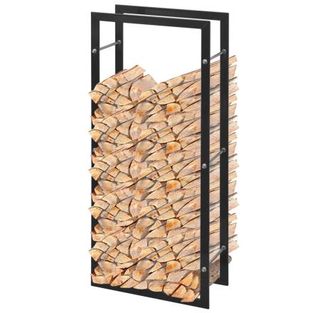 vidaXL Rektangulær Brændeholder 100 cm