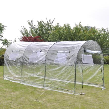 vidaXL udendørs drivhus stort flytbart drivhus til baghaven