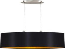 EGLO Taklampa Maserlo 100 cm Svart 31616