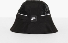 Nike Sportswear U Nsw Bucket Cap Mesh Hattar Svart