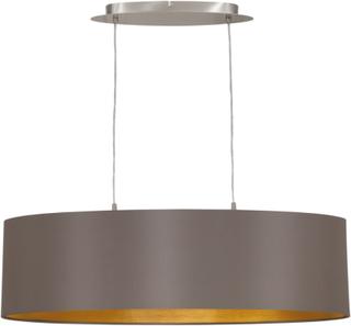 EGLO hængelampe Maserlo 78 cm cappuccinofarvet 31614