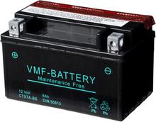 VMF Powersport Liquifix batteri 12 V 6 Ah MF YTX7A-BS