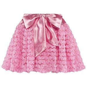 DOLLY by Le Petit Tom Dolly Rosettes Balloon Skirt Pink Petite (1-3 år)