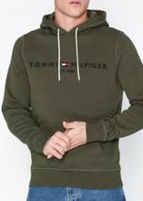 Tommy Hilfiger Tommy Logo Hoody Gensere Grape Leaf