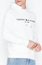 Tommy Hilfiger Tommy Logo Hoody Puserot Snow White