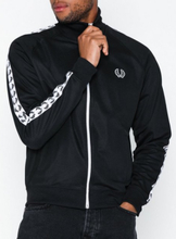 Fred Perry Taped Track Jacket Puserot Musta