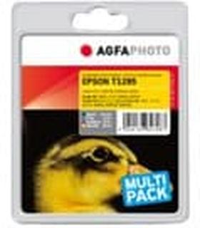AgfaPhoto - 4-pack - svart, gul, cyan, magenta - bläckpatron (alternativ för: Epson T1292, Epson T1293, Epson T1294, Epson T1291, Epson T1295) - för