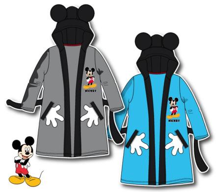 Mickey Mouse morgenkåbe, grå