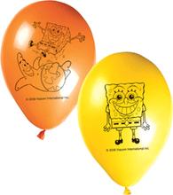 Svampe Bob balloner, 8 stk