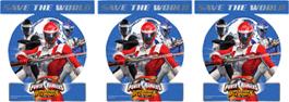 Power Rangers - Rysler - 6 stk. - TheFairytaleCompany