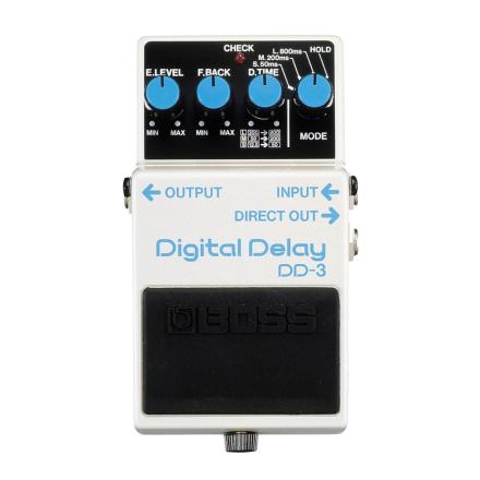 Boss - DD-3 Digital Dealy - Guitar Effect Pedal