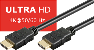 Goobay HDMI-kabel, Ultra HD 4K, 20 meter