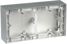 Elko Plus Förhöjningsram aluminium 2 fack