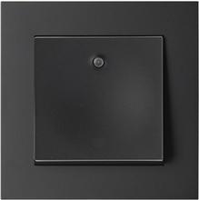 Elko Plus Strömbrytare infälld, med ljus, 1-pol, svart