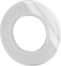 Schneider Renova-serien Täckram glas, vit