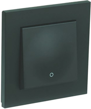 Elko Plus Strömbrytare infälld, 2-pol, svart