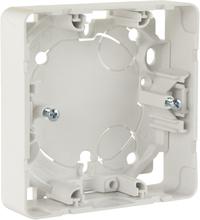 Schneider Exxact-serien Förhöjningsram för infällda strömbrytare, vit