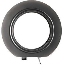 Schneider Renova Täckram ytter, för infällda strömbrytare, svart