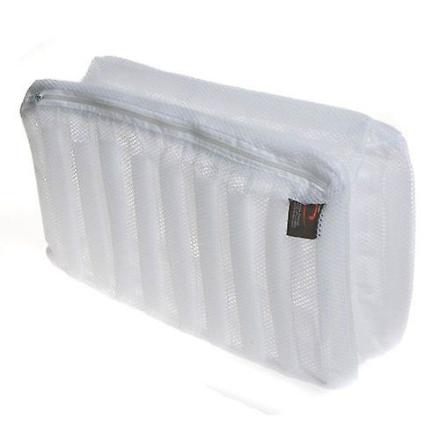 1 Caraselle zippet netto vask taske til sko og undervisere 33x19x17cms