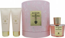 Acqua di Parma Rosa Nobile Presentset 100ml EDP + 75ml Duschgel + 75ml Body Creme