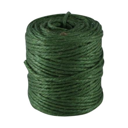 Snöre av Jute Cylinder Grön