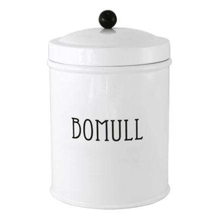 Plåtburk Svarte Petter Bomull