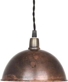Taklampa Pelle Vintage Brun