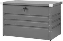Pehmustelaatikko harmaa 100x62 cm CEBROSA