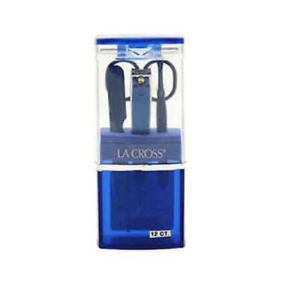 Sally Hansen La Cross feiring plast blå 4 stykker Grooming Kits 4 P...
