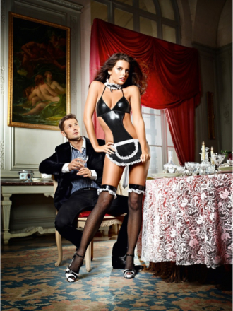Baci: At Your Service, French Maid Set, One Size