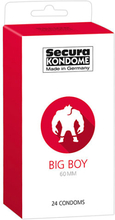 Secura: Big Boy 60 mm, Kondomer, 24-pack