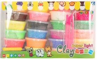 Foam clay - modellerings sæt med 24 bøtter og redskaber