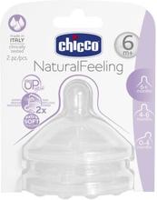Chicco Chicco napp till flaska Step3, 6M 810472CH Replace: N/AChicco Chicco napp till flaska Step3, 6M