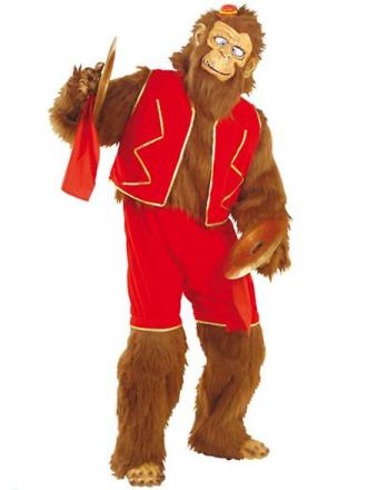 SANCTO INTERNATIONAL Skøre abe Plys kostume (buksedragt Shorts Vest... - Fruugo