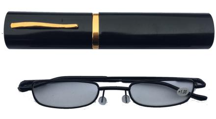 Läsglasögon duga i fodral 1.0-3.5 svart