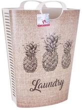 Tvättkorg Pineapple 58 L (46 X 36 x 65 cm)