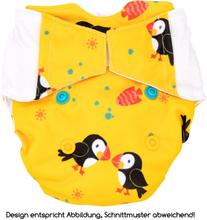 Mommy Mouse - Überhose (Newborn, One Size, XL) - Puffins - Newborn (2,5-7 kg)