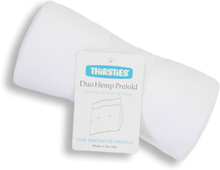 Thirsties - DUO Prefold - Hanf & Bio-Baumwolle - Size Two (8-18 kg)