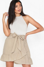 Neo Noir Bella Linen Skirt