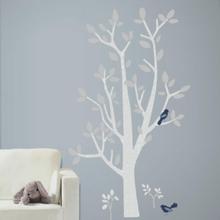 RoomMates-seinätarra - Patina Vie Forest Tree - monivärinen