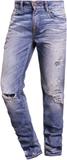True Religion ROCCO Jeans straight leg hellblau