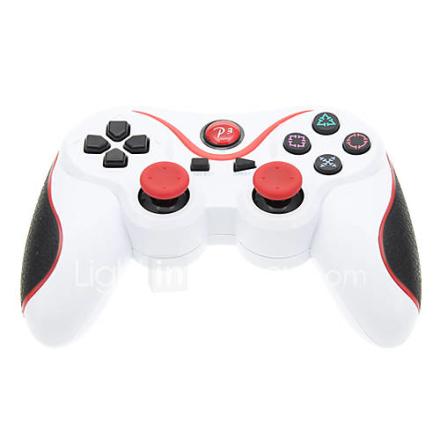 Kuuma myymällä langattoman SIXAXIS Bluetooth-ohjain Game Pad-ohjain Playstation PS3: lle (Assorted Colors)