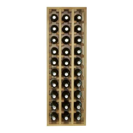 WINEREX Vinställ ALMA för 30 flaskor (1/2 modul)
