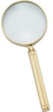 Förstoringsglas 3x Guldplate 23kt - El Casco