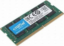 16GB CRUCIAL SO-DIMM DDR4 2400MHz, PC4-19200, CT16G4SFD824A