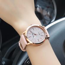 YOLAKO Fashion Top Brand Women's Watch Casual Quartz Leather Band Starry Sky Analog Ladies Clock Wrist Watches zegarek damski
