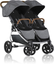 Crescent Duo Lightway Syskonvagn (Grey Melange)