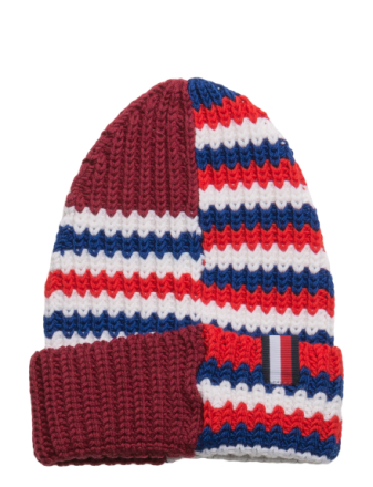 He Stripe Mixed Beanie